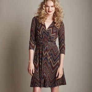 Anthropologie - Amadi Zig Zag Dress